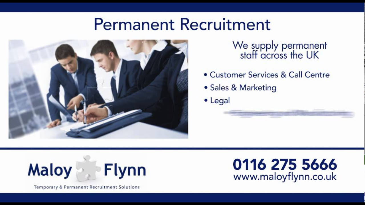 recruitment agency in leicester temp admin permanent jobs