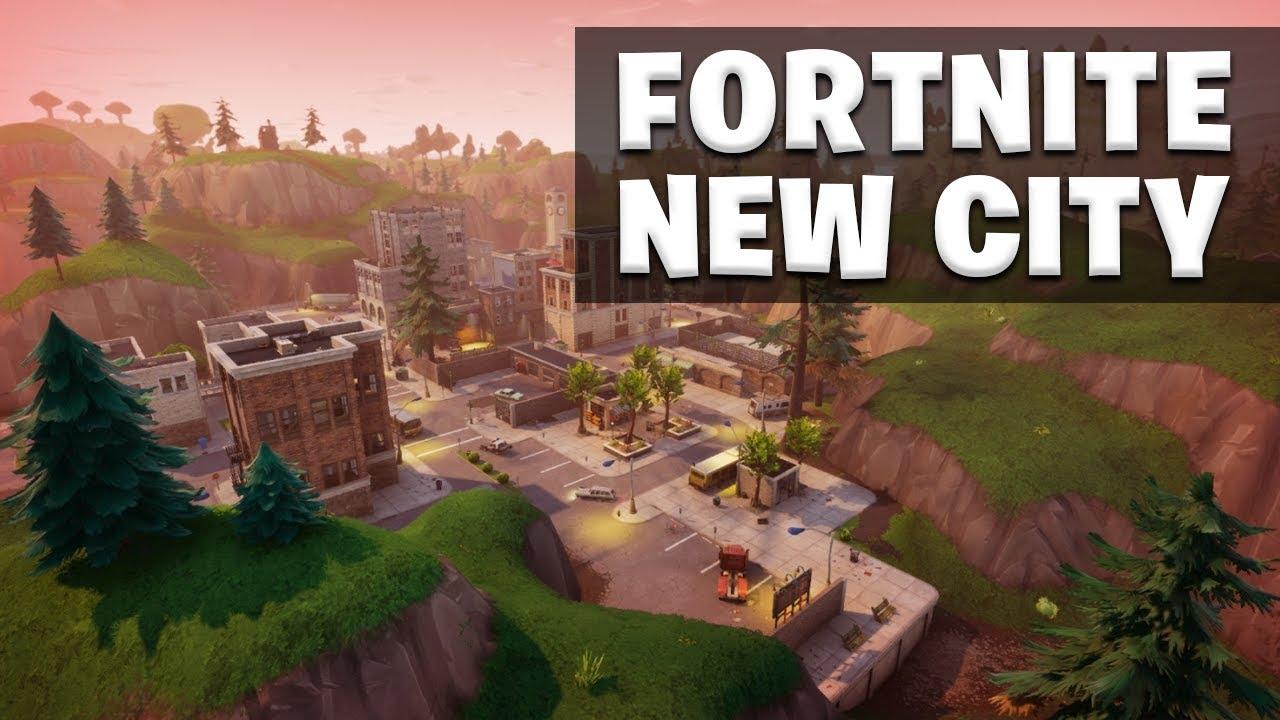 new city game mode fortnite battle royale youtube. Black Bedroom Furniture Sets. Home Design Ideas