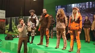 Pokaz mody myśliwskiej na Hubertus Expo 2018