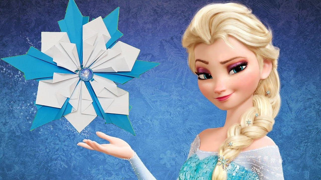 Как сделать Снежинку 4 Стихии для Принцессы из мультфильма ...