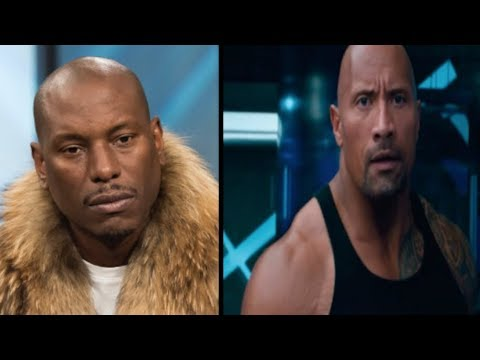 """Tyrese Gibson Calls The Rock """"Selfish"""" For Doing A F&F Spin Off+ The Rock Finally responds!"""