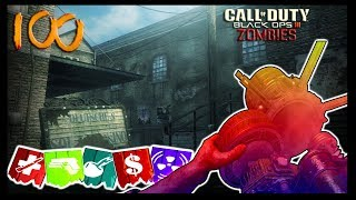 KINO DER TOTEN ROUND 100 WITH ROBLOX CHARACTERS #BlameAna !! (Black Ops 3 Zombies)