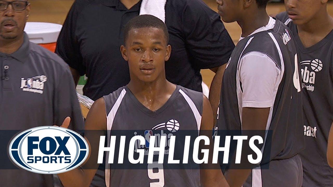 Southeast vs Northeast   JR NBA CHAMPIONSHIPS