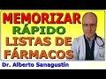 Gambar cover Cómo memorizar rápido listas de Fármacos 💊 #Mnemotecnia