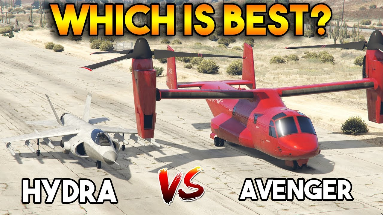 Download GTA 5 ONLINE : AVENGER VS HYDRA (WHICH IS BEST?)
