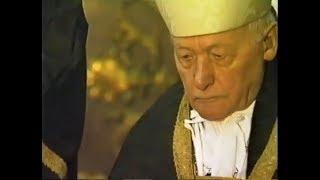 Cardeal Alfons M Stickler celebra Pontifical por Plinio Corrêa de Oliveira, em Roma