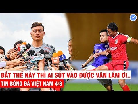 VN Sports 4/8 | Văn Lâm tái hiện pha xử lý đỉnh cao của Neuer, Anh Đức sút phạt để đời trước Hà Nội