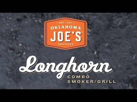 Oklahoma Joe's Longhorn Combo Charcoal and Gas Smoker