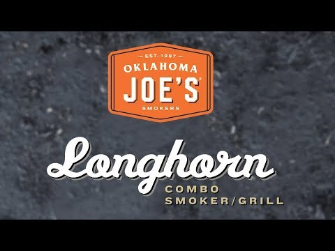 Longhorn Combo Charcoal And Gas Smoker - Product Walkthrough | Oklahoma Joe's