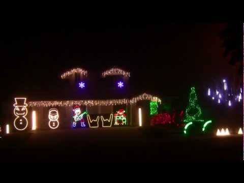 METALLICA CHRISTMAS LIGHTS 2012 HD LIGHTORAMA