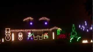 Repeat youtube video METALLICA CHRISTMAS LIGHTS 2012 HD LIGHTORAMA