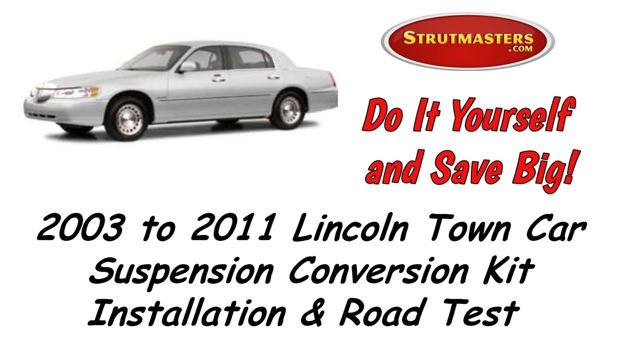 Suspension Lincoln 1997 Town Car Front And Rear Air Conversion By