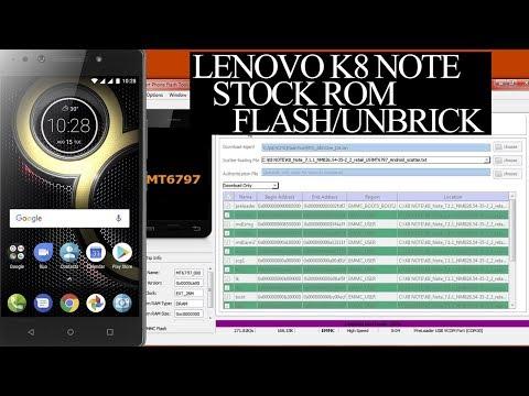 Lenovo K8 Note Stock Rom Download | Flash/Unbrick K8 Note