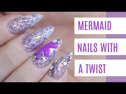 MERMAID NAILS | WITH A TWIST