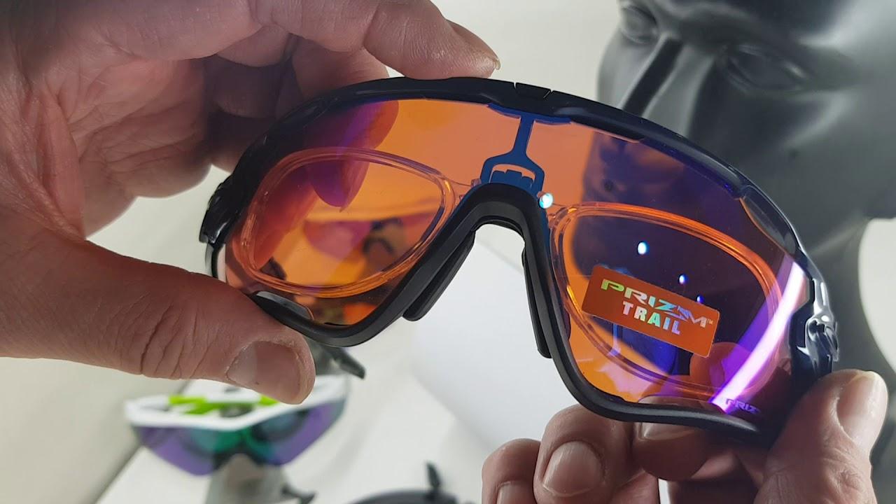 3d6d48663a Oakley Prescription clip for Jawbreaker sports sunglasses - YouTube