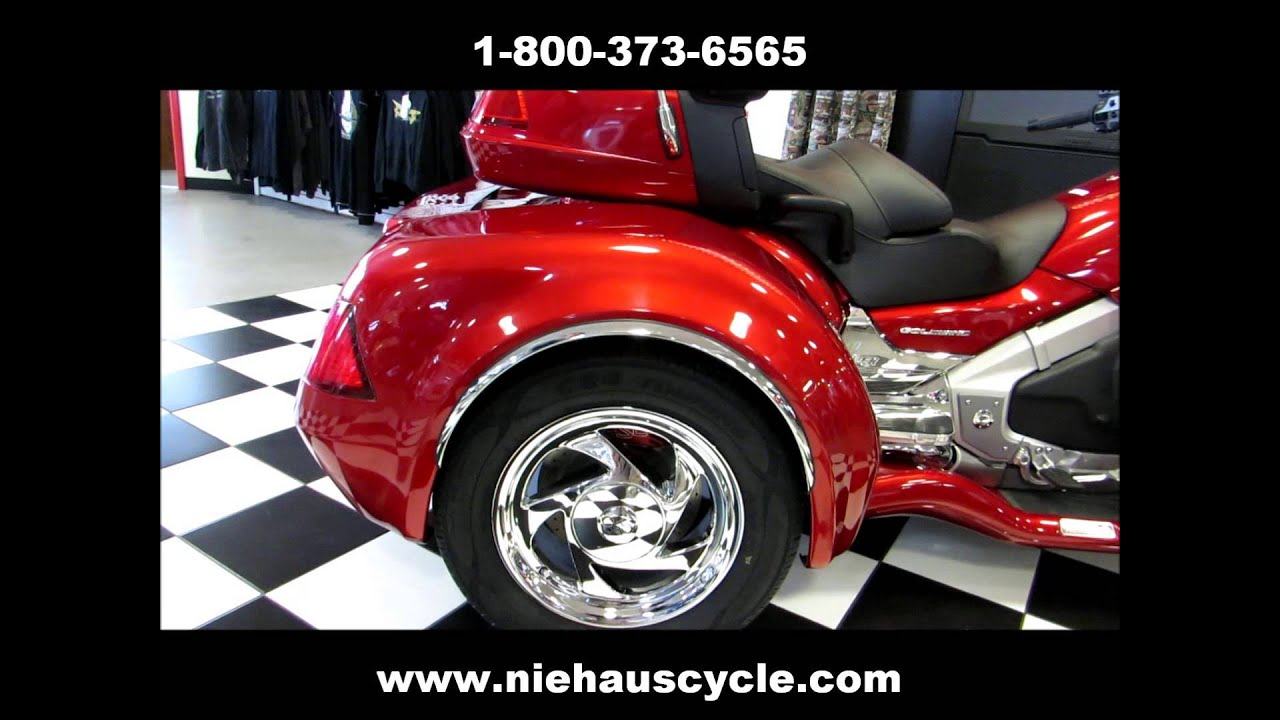 2013 Gold Wing Trike Candy Red California Side Car