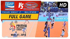 PVL RC Season 2 - WD: Pocari Sweat vs. Balipure | Full Game | 2nd Set | May 27, 2018
