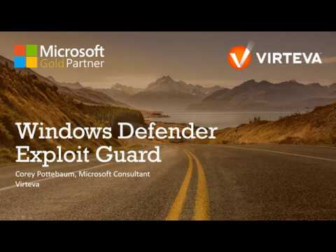 Windows Defender Exploit Guard Demo - YouTube