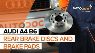 How to replace Brake rotors FIAT DUCATO Platform/Chassis (244) Tutorial