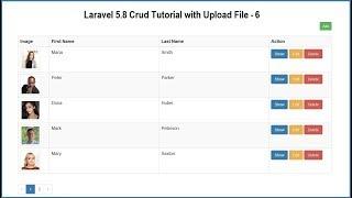 Laravel 5.8 Crud Tutorial with Upload File - 6
