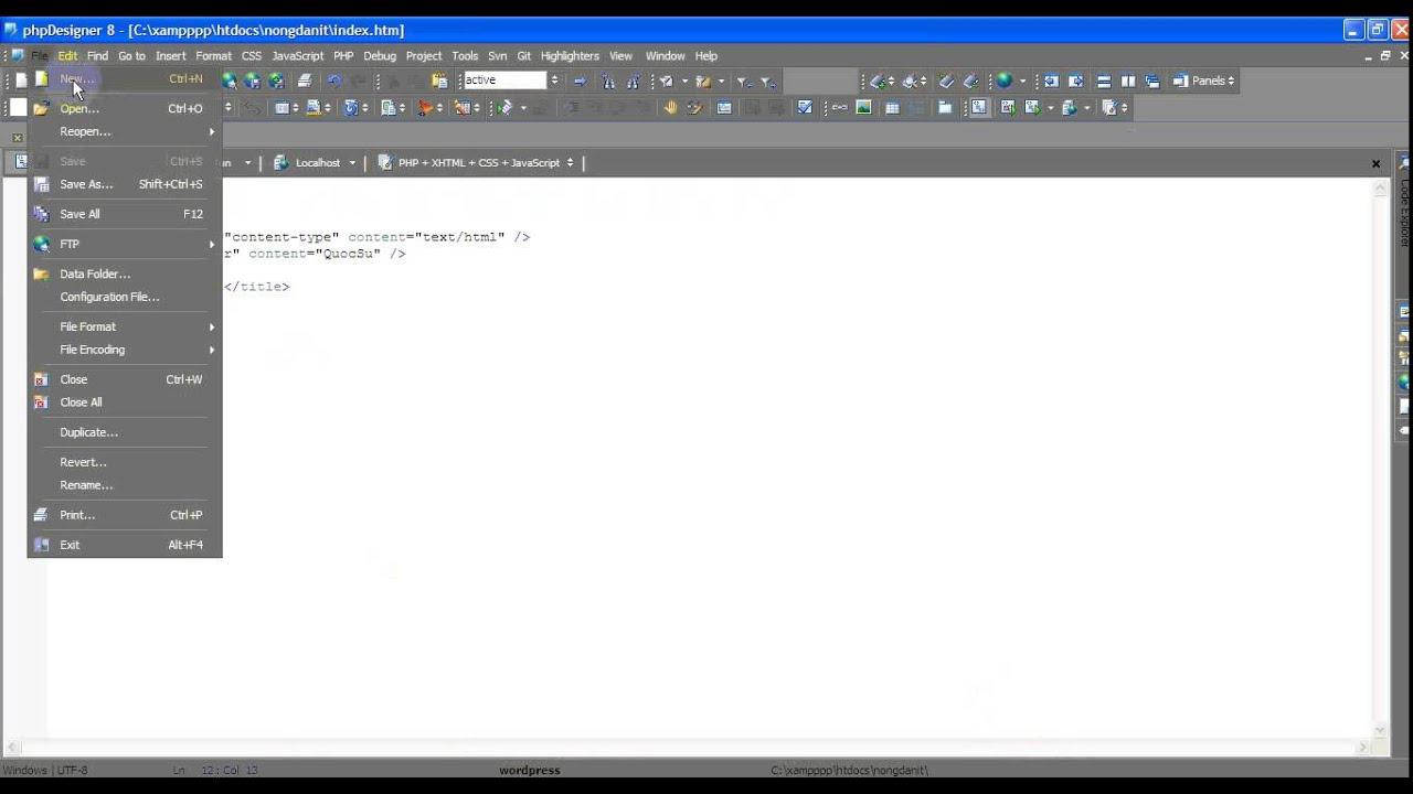 Làm quen với cách chạy ứng dụng đầu tiên trong PHP&MYSQL