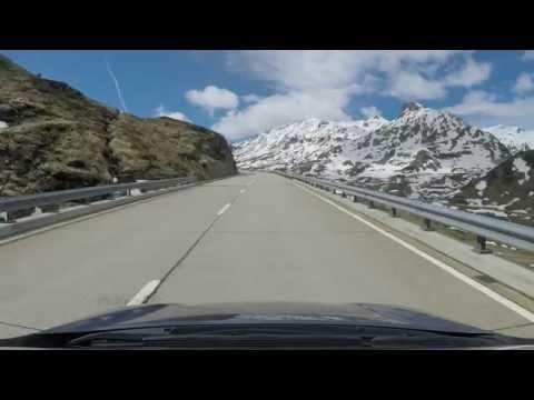 Beautiful ride over Gotthardpass   San Gottardo   Sankt Gotthard-Pass - Full video 2.7K - 1440p
