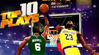 NBA 2K21 TOP 10 PLĄYS Of The WEEK #2 - PutBacks, Trick Shots & More