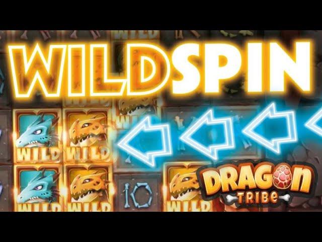 *WOW* THATS MENTAL ! Dragon Tribe Slot Big Win ??? 🔥