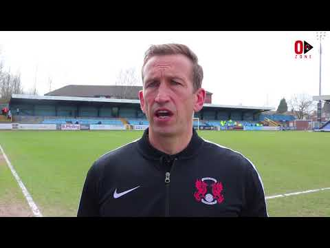 REACTION: Head Coach Justin Edinburgh following the 1-1 draw with Macclesfield Town