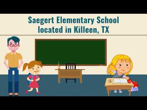 Saegert Elementary School located in Killeen, TX