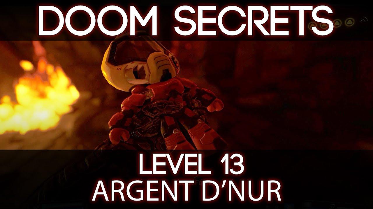 Doom 2016 Secret Locations | Level 13 - Argent D'Nur