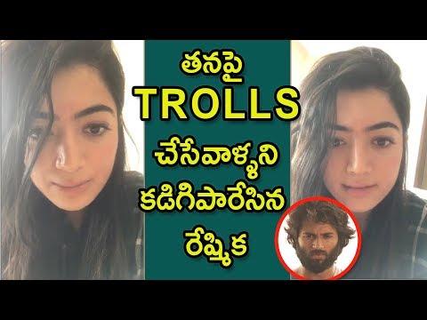 Rashmika Responds over Trolls about Vijay Devarakonda   Geetha Govindham Mp3