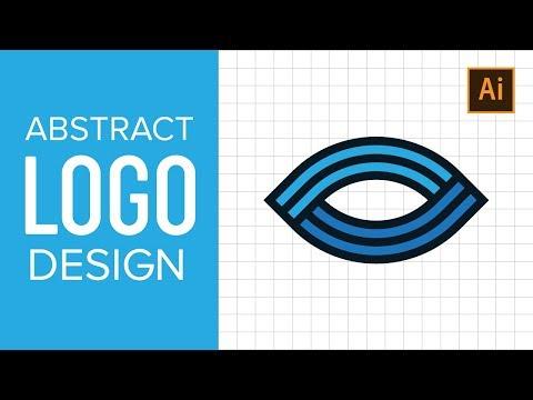 ABSTRACT LOGO DESIGN TUTORIAL WITH ADOBE ILLUSTRATOR CC thumbnail