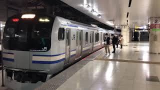 E217系クラY-23編成+クラY-116編成東京発車