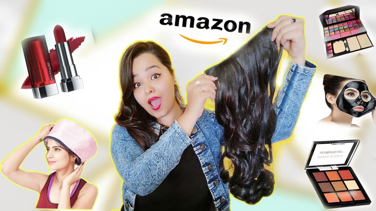 Amazon Beauty Shopping Haul with Prices |Starts from Rs 100 | #amazonshoping #amazonhaul #makeuphaul