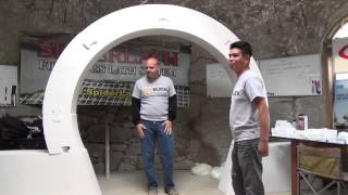 Moon Gate Video #2 --- Dry Fit Construction Run