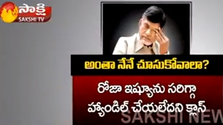 Chandra Babu Unhappy On Ministers And TDP Sen...
