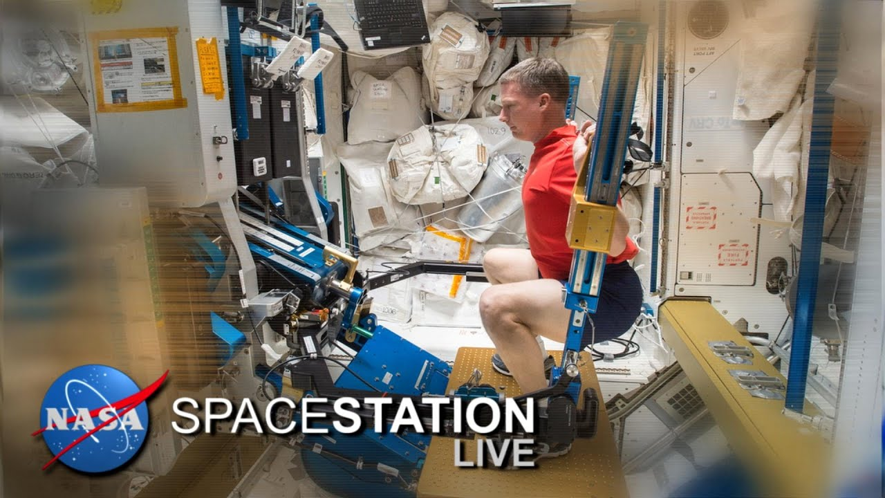 Space Station Live: The ISS Workout Plan - YouTube