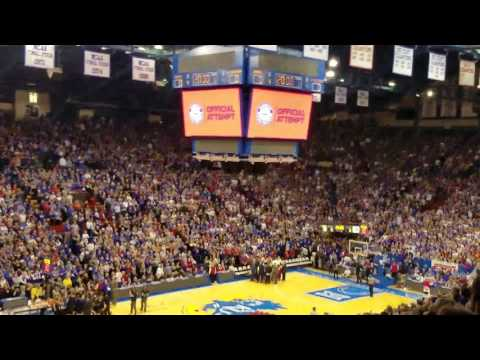 Allen fieldhouse guiness book of world record! 130.4 dbls!