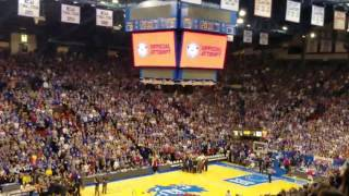 Allen fieldhouse guiness book of world record! 130.4 dbls! thumbnail