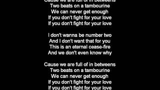Big Fat Snake - Fight For Your Love (lyrics)