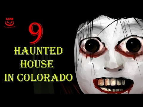 9 Haunted Houses in Colorado