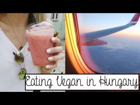 Eating Vegan in Hungary - Travel Vlog | Cornelia