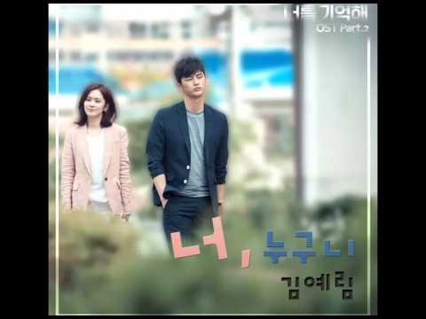 (DL MP3) Lim Kim - Remember You Part.2 – (Single)