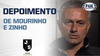 CARLOS ALBERTO SE EMOCINA COM DEPOISMENTO DE MOURINHO NO JOGO SAGRADO!