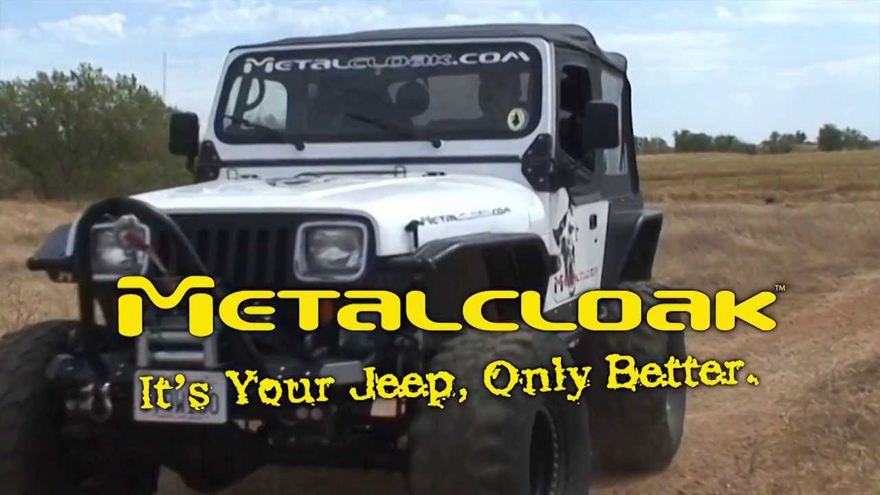 Jeep Wrangler Body Armor >> How to Cloak A Jeep Wrangler YJ - An Introduction from Metalcloak - YouTube