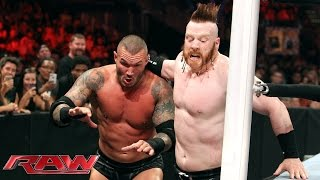 Randy Orton & Ryback vs. Big Show & Sheamus: Raw, July 13, 2015