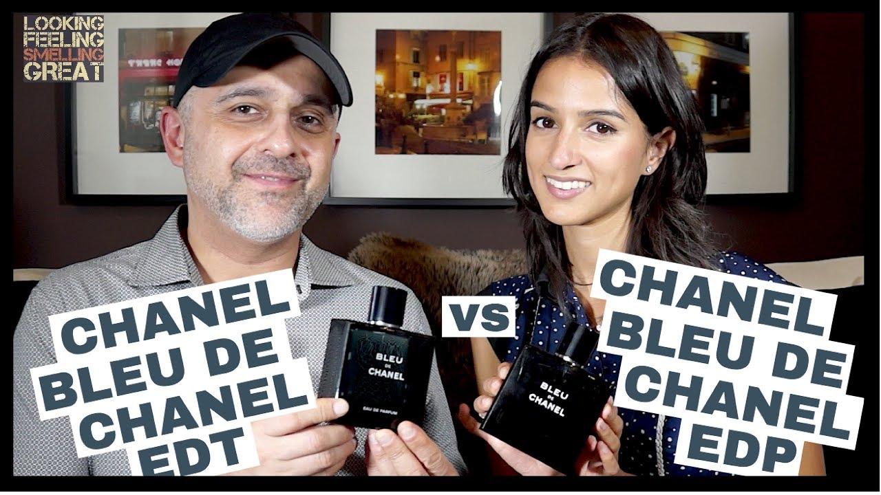 Chanel Bleu De Chanel Eau De Parfum Edp Vs Chanel Bleu De Chanel
