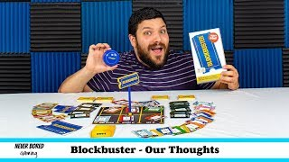 Blockbuster - Our Thoughts (Board Game)
