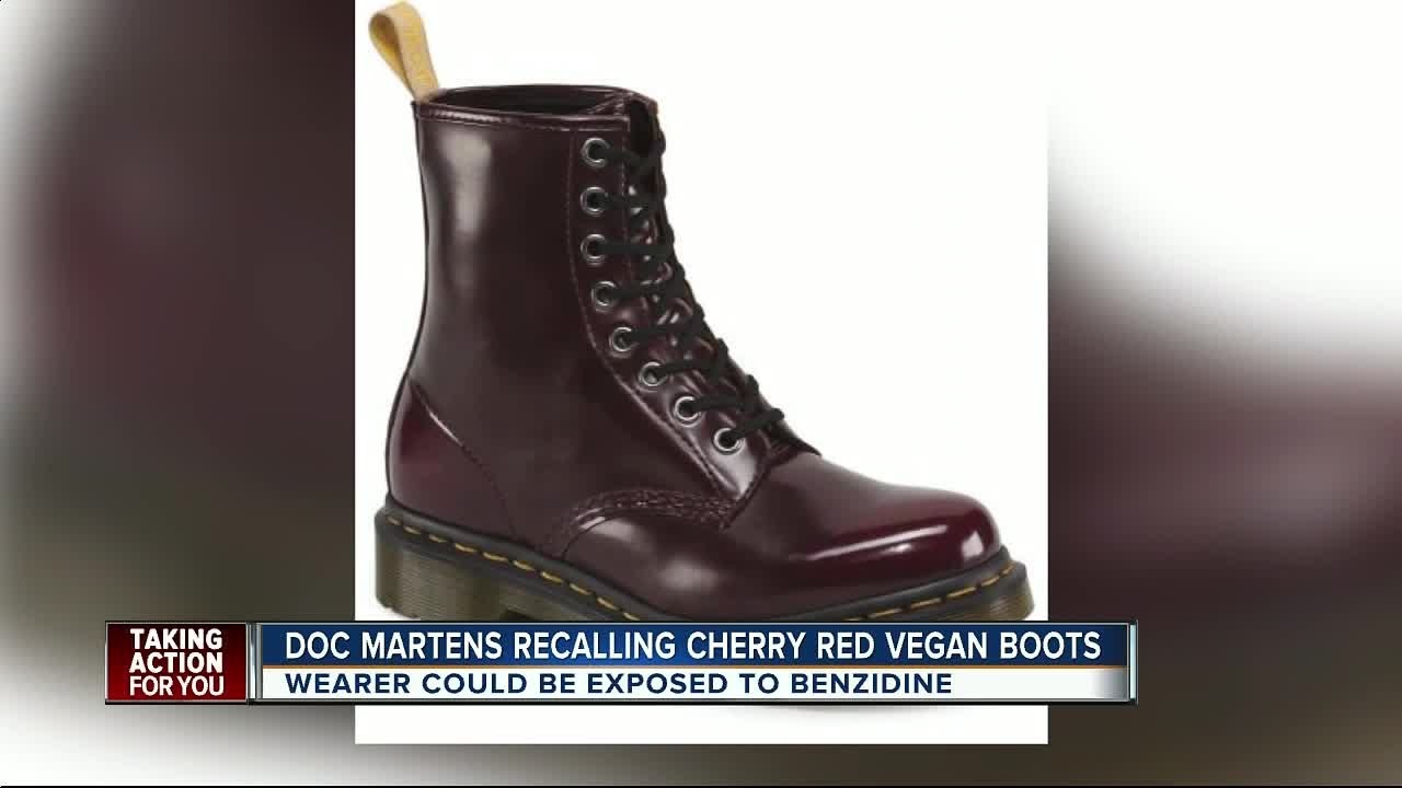 Dr. Martens recalls boots due to chemical exposure